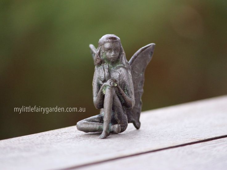 Scarlet - The Iron Fairies My Little Fairy Garden