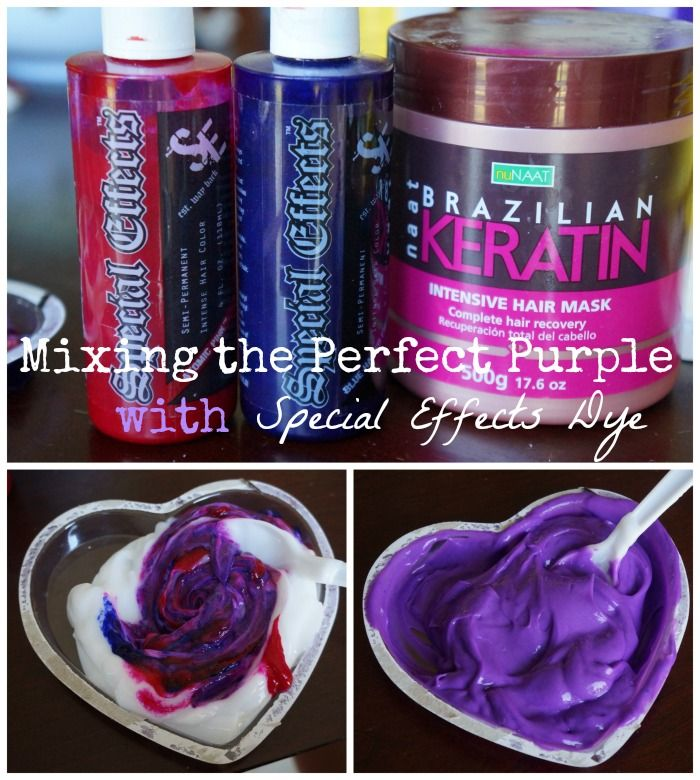Atomic Pink and Blue Haired Freak Purple. Good tips on conditioner mixing, and how to really stretch your dye #hair