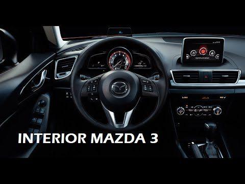 Interior Mazda 3 Skyactiv 2016 NOCHE, Interior Night mazda 3