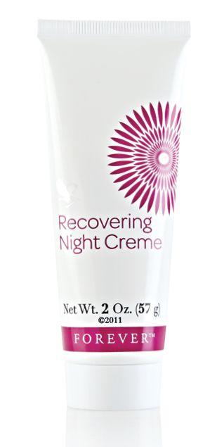Aloe Fleur de Jouvence Recovering Night Creme - Krem odżywczy na noc. Recovering Night Creme jest zasadniczym elementem kolekcji Aloe Fleur de Jouvence.