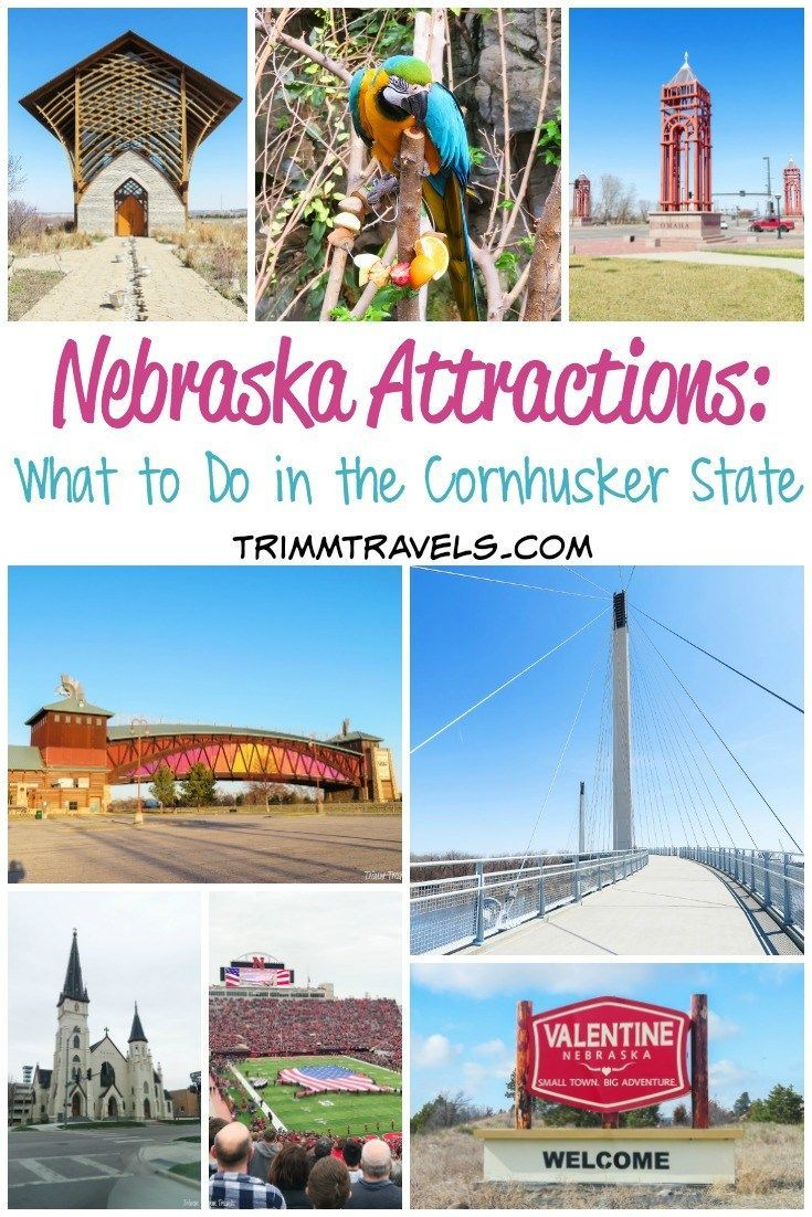 Nebraska Attractions What To Do In The Cornhusker State Travel Nebraska Midwest Travel Nebraska