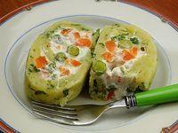 RULO PATATES SALATASI - yesilkivi - denenmiş, fotoğraflı tatlı ve yemek tarifleri...