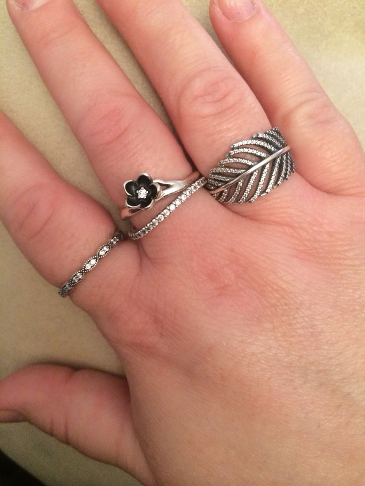 233 Best Images About Pandora Rings Etc On Pinterest