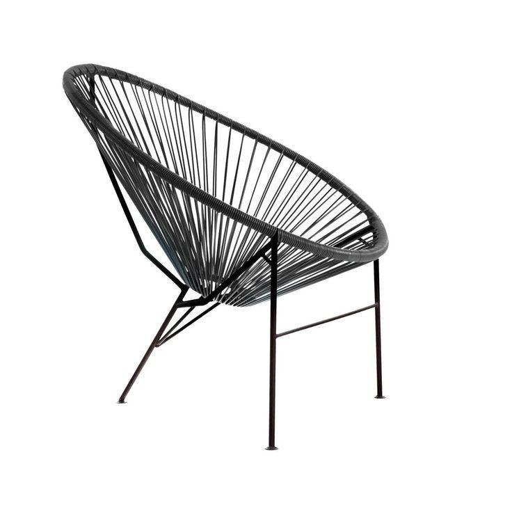 Krzeslo Ogrodowe Acapulco Czarne Krzesla Fotele Lawki Ogrodowe W Atrakcyjnej Cenie W Sklepach Leroy Merlin Acapulco Merlin