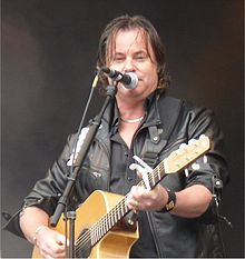 Bruce Guthro (born August 31, 1961) is a Canadian singer / songwriter, from Cape Breton Island, Nova Scotia. Guthro has recorded as a solo artist, and in 1998 joined the Scottish folk rock band Runrig,[1] whilst still pursuing his solo career. Guthro has received several ECMA's (East Coast Music Awards),[2] and has hosted the Canadian TV show Songwriters Circle, on which guests included Alan Doyle, from the Canadian Band Great Big Sea.