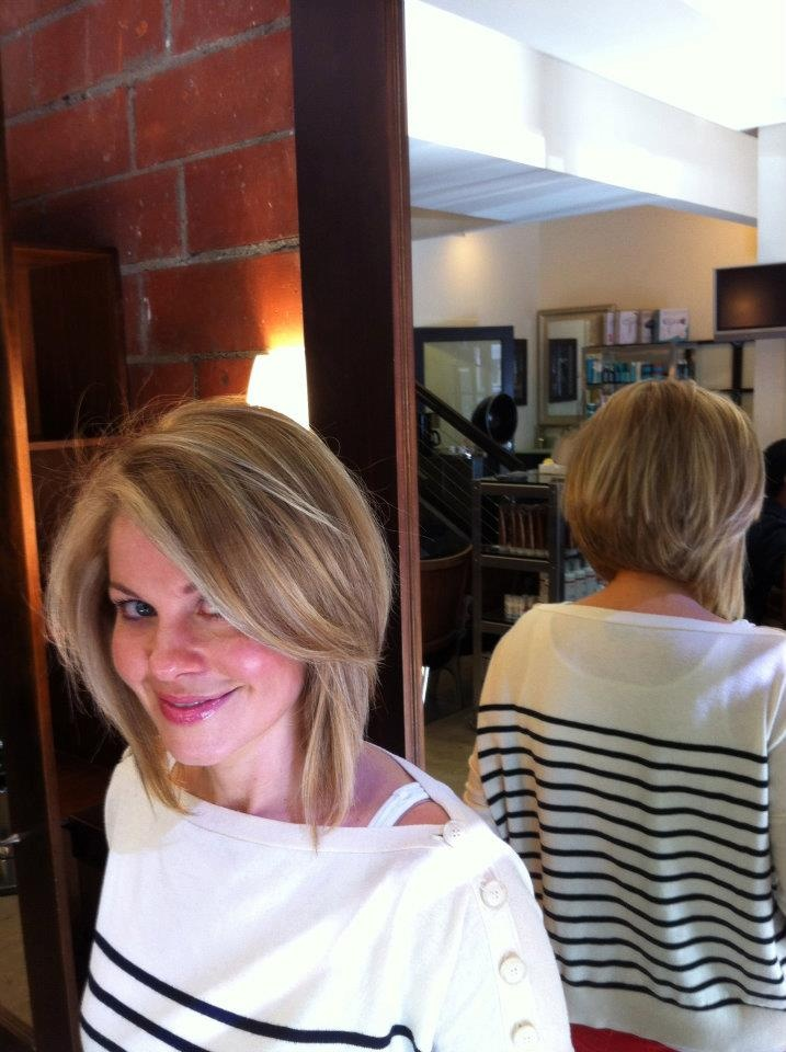 Candace Cameron Bure's new style.