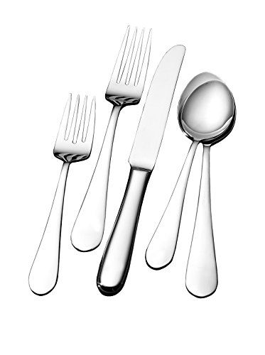 www.myhabit.com  With an elegant, streamlined silhouette, this set can be used for casual or formal dining; includes (4) 5-piece place settings