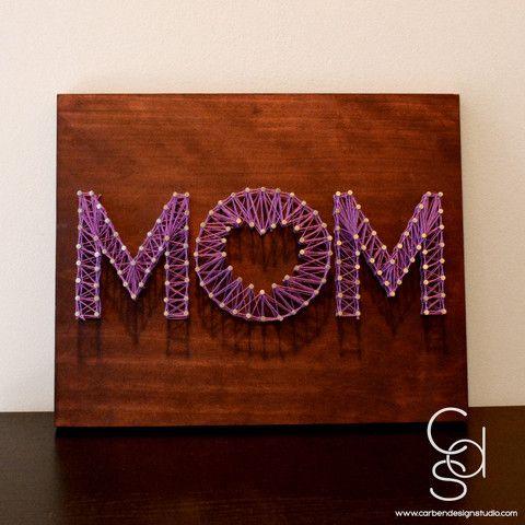 Mom String Art Carben Design Studio