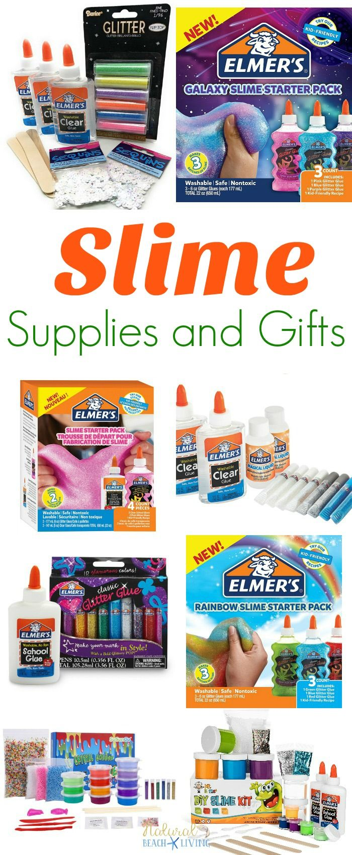 324e8bf6d The Ultimate Slime Supplies and Slime Gift Ideas, Slime Recipes, How to  make Slime, How to Make Fluffy Slime, Slime Kits, Homemade Slime Recipes,  ...