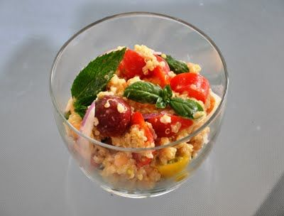 Quinoa, Herbs and Heirloom tomatoes on Pinterest