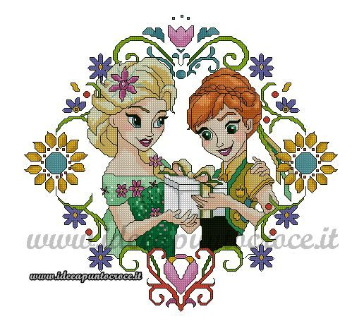 Elsa & Anna Frozen Fever 1of 2