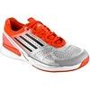 adidas adiZero Feather II: adidas Men's Tennis Shoes Silver/Black/Red Holabird Sports