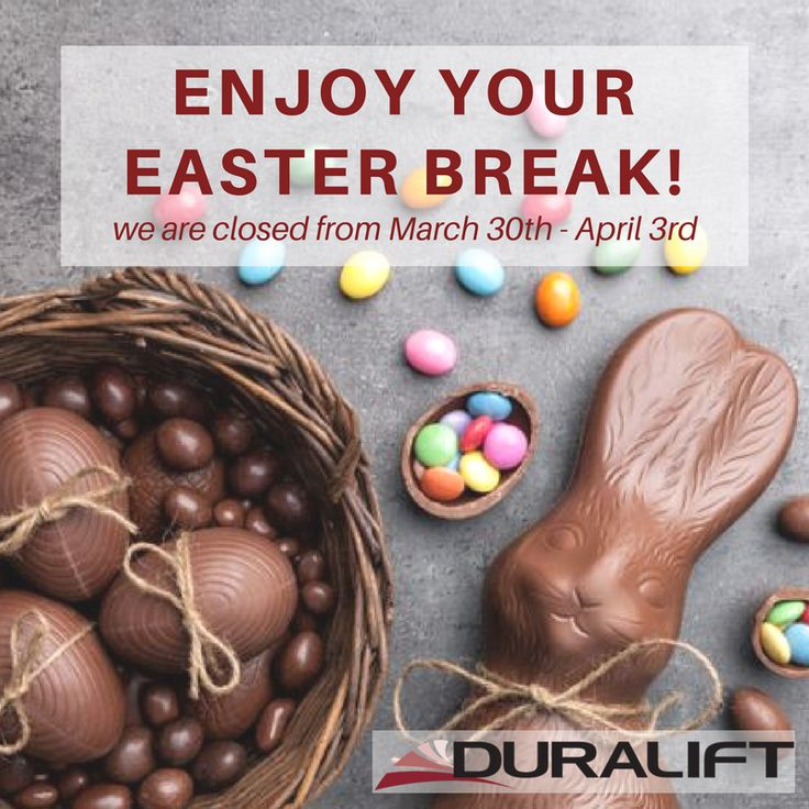 🐰🐰Wishing all our customers, suppliers and followers a safe & happy Easter break! 🐰🐰