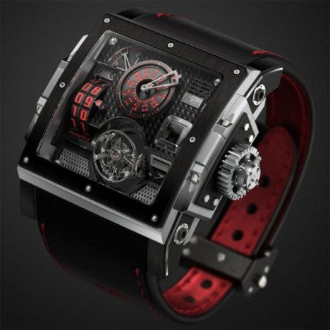 HD3 Complication Black Pearl Watch Favors Pirates