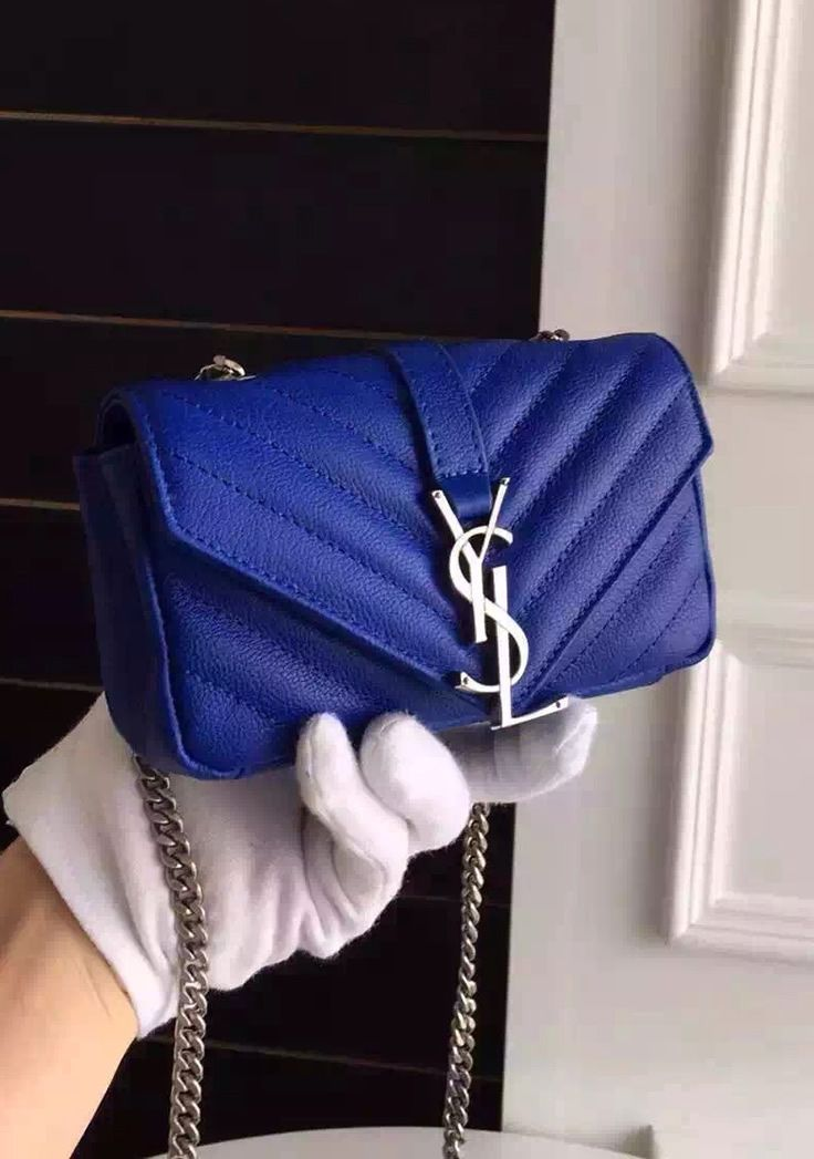 VIDA Leather Statement Clutch - Blue Dog Max by VIDA 9K6YxaOix