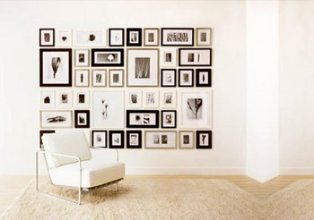Mural de fotos - Composición mezclando diferentes colores y formas - B&W