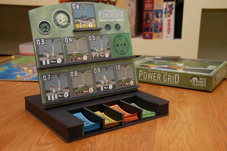 Power Grid stand by Michael Campbell