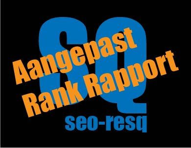 Aangepast SEO Rank Rapport door seo-resq.