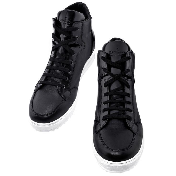 """Sneakers modello """"California"""", per aumentare la statura con stile!   http://guidomaggi.it/a-i-2014-15/california-detail#.VJQ6wsAAA"""