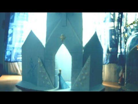 Tutorial: Castillo de Frozen Elsa con cartones viejos
