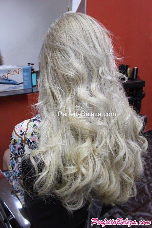 cabelo loiro platinado