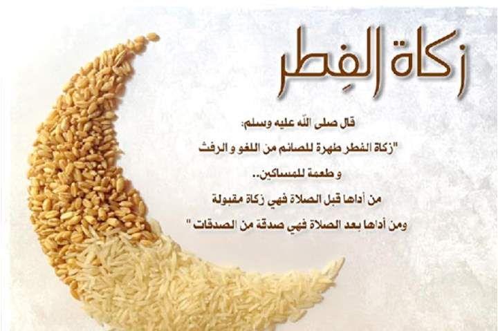 مقدار زكاة الفطر بالكيلو للأرز Rice Food Condiments