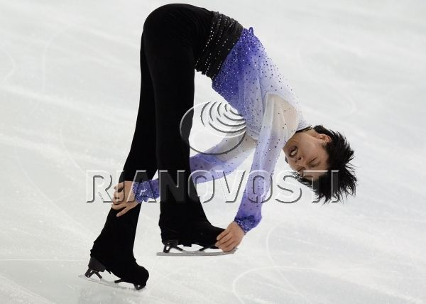 Figure skating. ISU Grand Prix Final. Men's singles. Short Program.