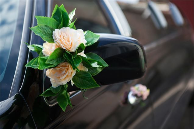 An effective addition to your wedding transport.