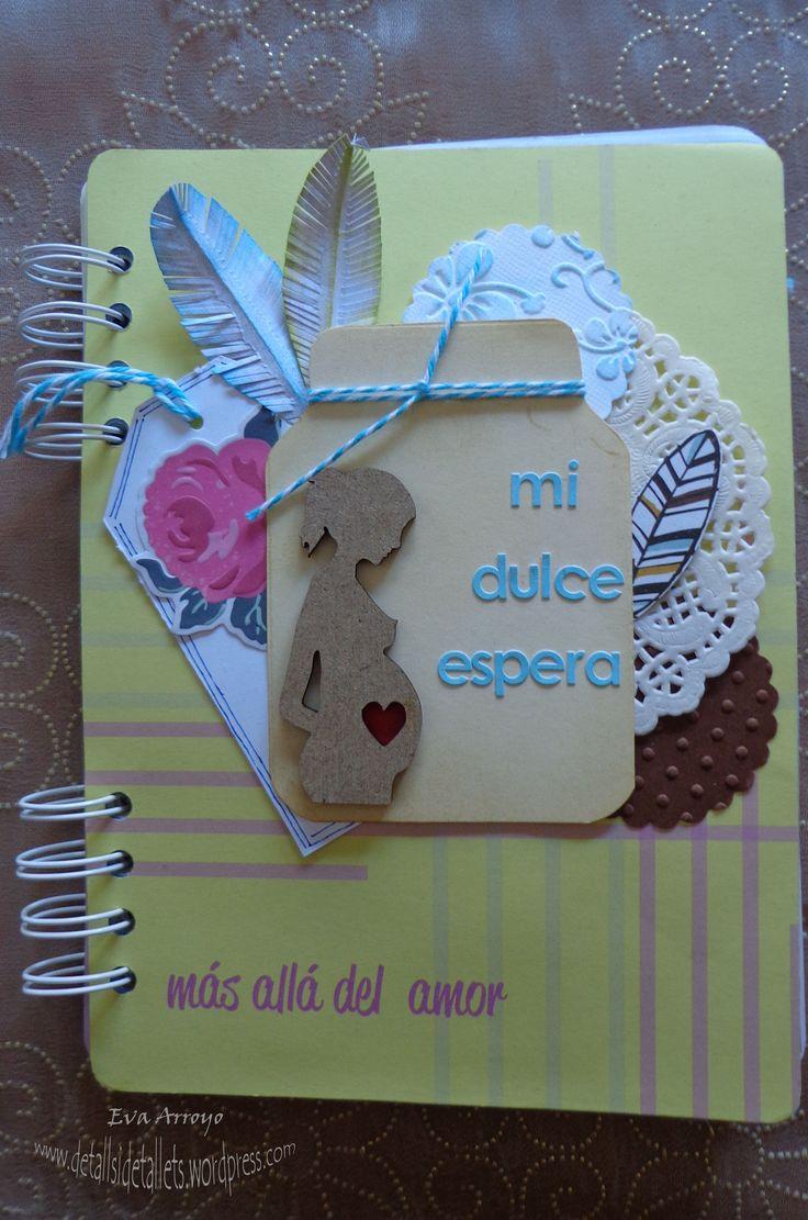 Muy buenos días a tod@s!! Hoy os quiero mostrar un diario de embarazo que he hecho para un familiar. Los papeles que he utilizado son los de la colección 100% tu de Judy Scrap. És una colección muy...