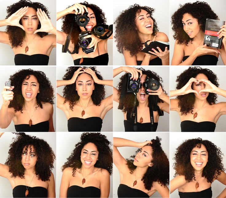 Shannon Boodram - gorgeous curls!! and I have learned so much from her over the past yr.