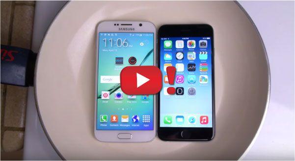 S6 contro iPhone 6: test dell'acqua bollente! | Videopazzeschi