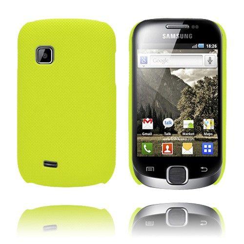 SuperGrip (Kirkkaankeltainen) Samsung Galaxy Fit Suojakuori