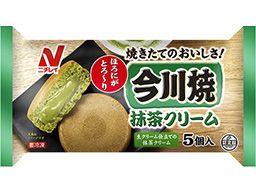 今川焼(抹茶クリーム)|冷凍食品・冷凍野菜はニチレイフーズ https://www.nichireifoods.co.jp/product/detail/food_detail.html?sho_id=98