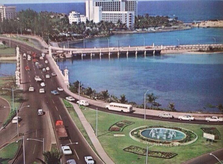 Puente Dos Hermanos. San Juan, Puerto Rico. 1965.