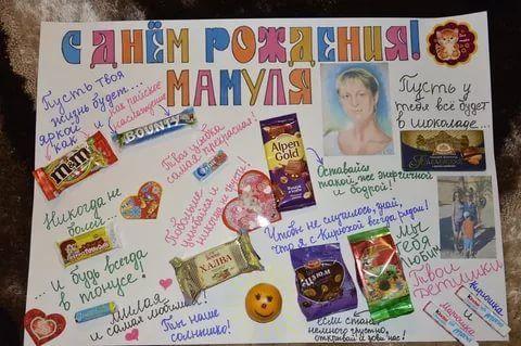 сладкий подарок на день рождения своими руками маме: 14 тыс изображений найдено в Яндекс.Картинках