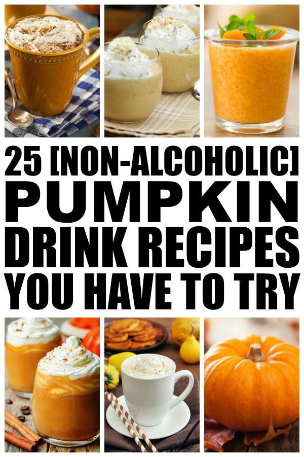 If you're growing tired of your beloved pumpkin spice latte, but aren't ready to give up pumpkin-flavored everything just yet, check out this AMAZING list of [non-alcoholic] pumpkin drink recipes! There's something here for everyone - smoothie lovers, coffee addicts, tea enthusiasts, chocolate connoisseurs, and health buffs like me! I'm particularly excited about 18, because...milkshake. Enjoy!