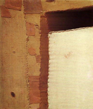 "Alberto Burri "" Sacco "" 1952"