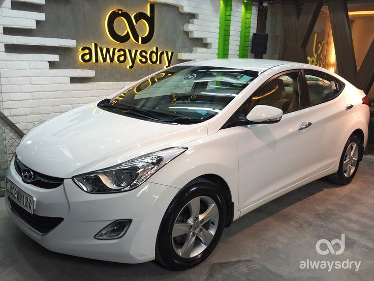 When in doubt #Hyundai #Elantra opted for Always Dry The most advanced nano ceramic coating #technology of 9H LDC Pro is here to stay with its exceptional durability and shine enhancing effects. Hours of prepping and coating resulted in better Gloss Paint quality You care for your #car so do we….Then why wait? Book now!