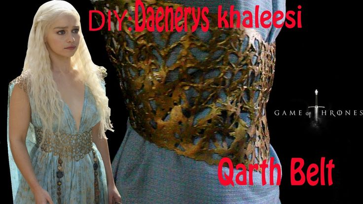 Diy khaleesi Daenerys QARTH belt cheap and easy