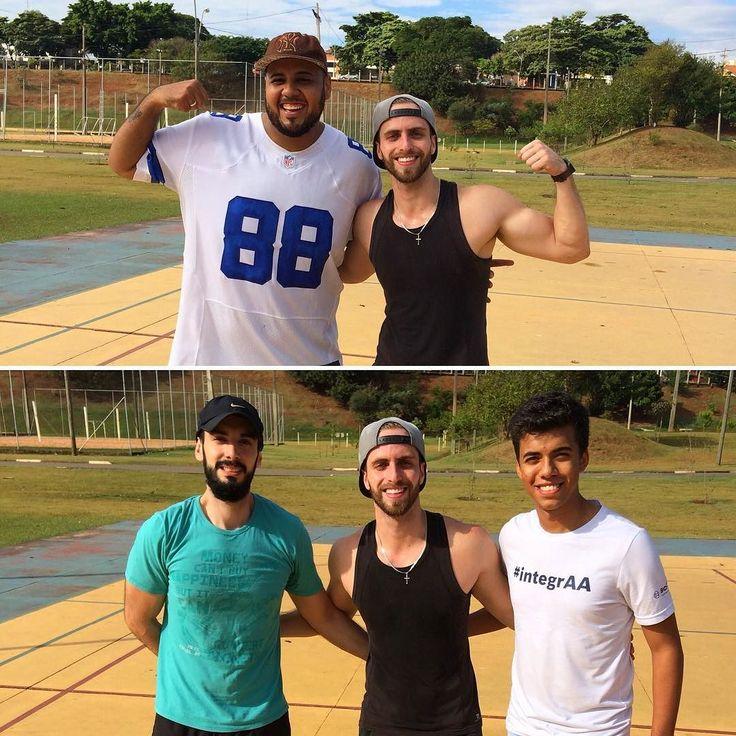 Mais sobre o treinão de hoje! Valeu brothers!!  #Desfrangando #saifrango #vemmonstro #fitness #fit #maromba #academia #treino #dieta #gym #workout #trainhard #foco #healthy #nutricao #focus #motivacional #motivation #campinas #beard #barba #bearded #fearthebeard #musculacao #dicas #antesedepois #receita by desfrangando_