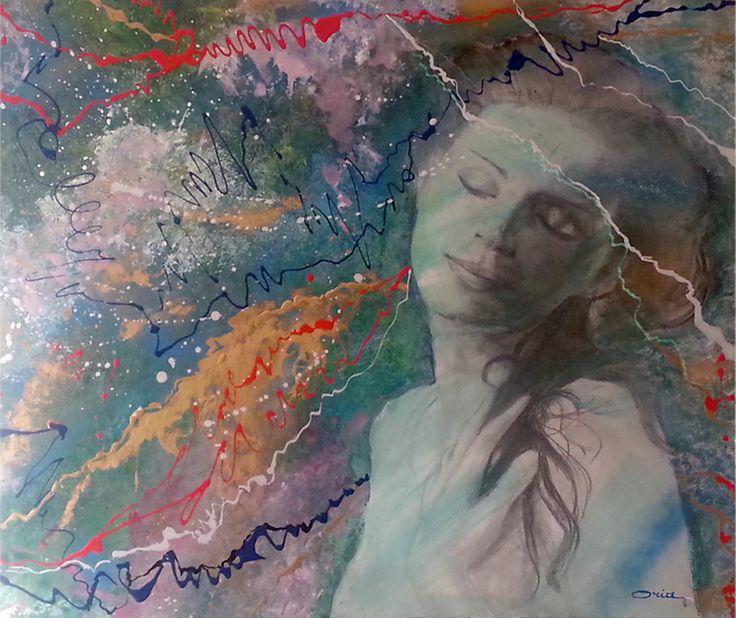 CALLIOPE Oria Strobino Vibrazioni di un sogno. Tecnica mista