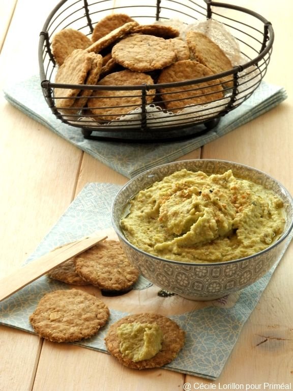 Crackers aux flocons d'avoine | Blog de recettes bio : Le cri de la courgette...