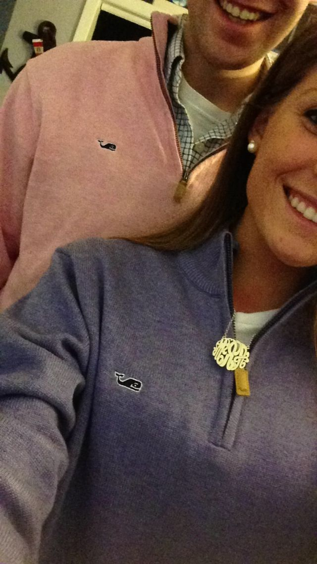 Awww whale aren't we just the cutest friends vineyard vines