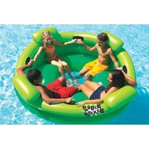 Inflatable Swimming Pool Shock Rocker >> Wonder how this would be in the bay? FUN!