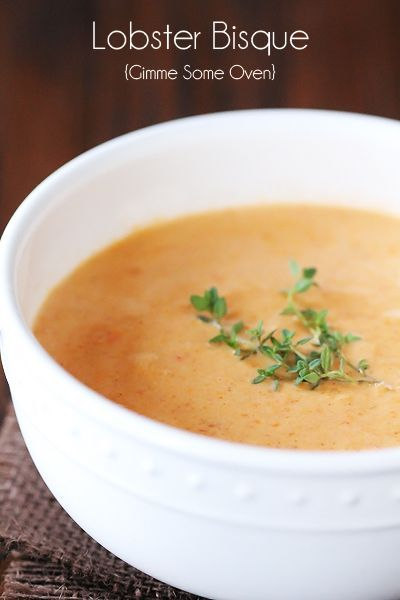Lobster Bisque - this was AWESOME. I added extra garlic, butter, and some parm. Definitely had a kick from the cayenne!