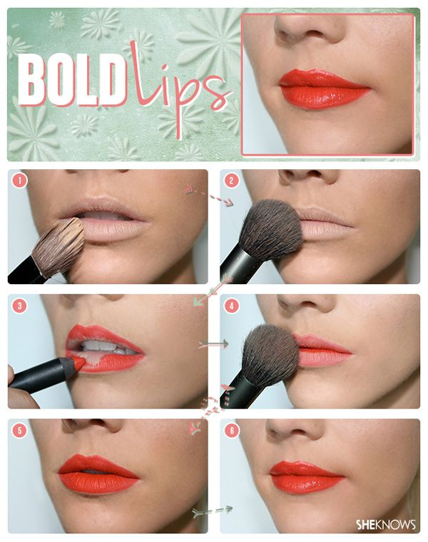 5 Basic by timeless makeup techniques. 1) How to wear bold lipstick | SheKnows.com