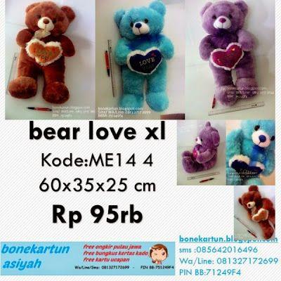 boneka beruang teddy bear besar lucu