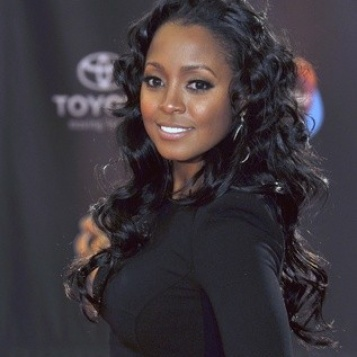 Keshia Knight Pulliam aka Rudy Huxtable from the Cosby Show