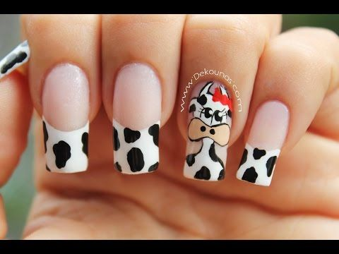 Decoración de uñas Jirafa - Giraffe Nail Art | Nailslucerocordoba - YouTube