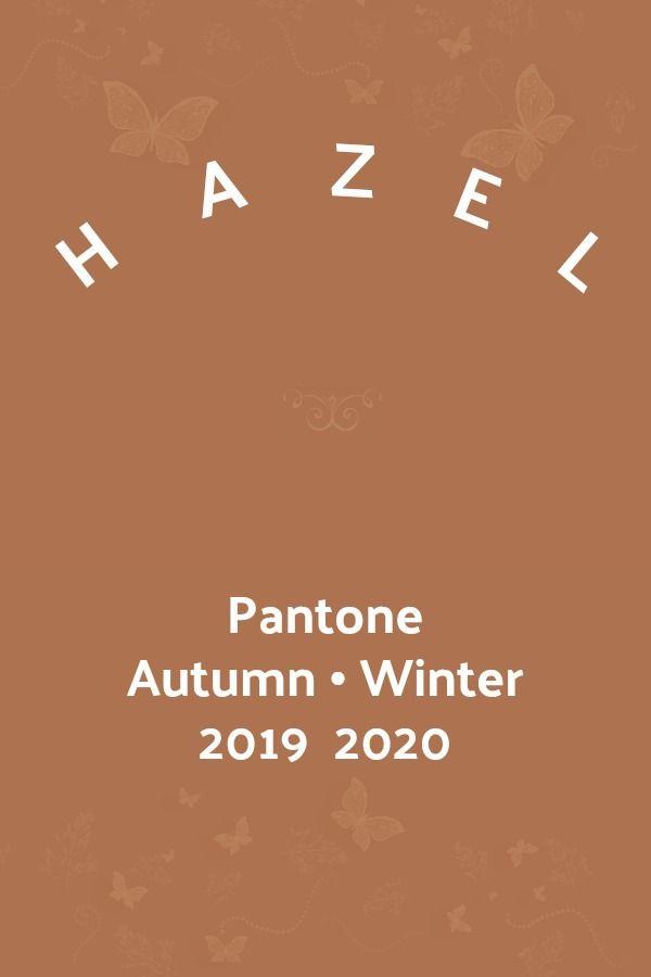 Pantone Hazel Color Trends Fashion Pantone Color Trends
